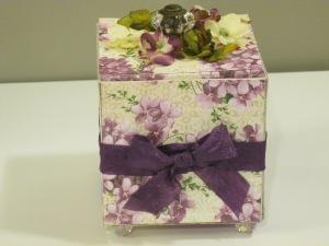 violet gift box